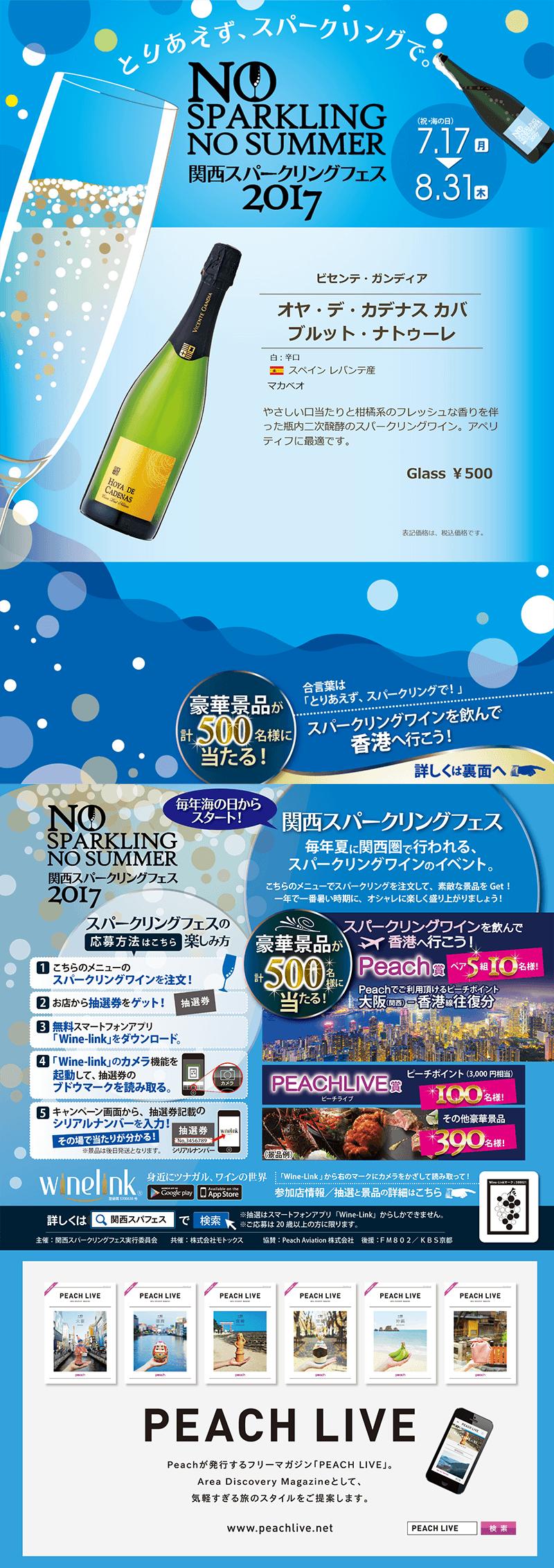 関西スパークリングフェス2017